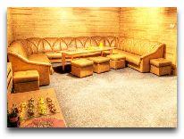 отель Riga: Комната отдыха при сауне