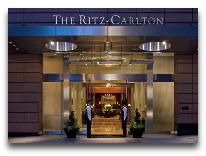 отель Ritz-Carlton Almaty: Вход в отель