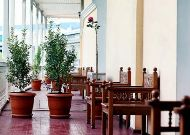 отель River Side Hotel: Веранда