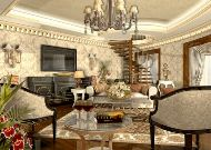 отель Rixos Almaty: Гостиная отеля