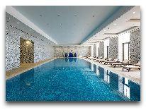 отель Quba Palace: Закрытый бассейн