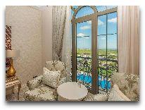 отель Quba Palace: Номер Deluxe с видом на озеро