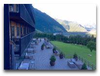 отель Rooms Kazbegi: Веранда отеля