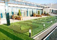 отель Royal Casino SPA & Hotel Resort: Мини гольф на террасе