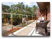 отель Sanatorija Egle Birstonas: Балкон