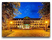отель Sanatorija Egle Birstonas: Вечером