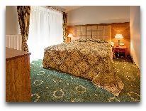 отель Sanatorija Egle Birstonas: Спальня номера Люкс