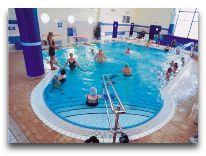 санаторий Sanatorium Bałtyk: Лечебная гимнастика в бассейне
