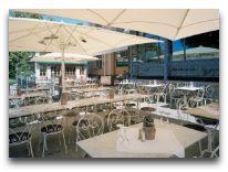 отель Scandic Hotel Hasselbacken: Летняя терраса