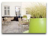 отель Scandic hotel Webers: Внутренний двор
