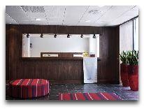 отель Scandic hotel Webers: Ресепшен