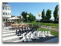 отель Scandic Rannahotell: Терраса ресторана