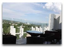 отель Serena Inn Dushanbe: Вид с террасы