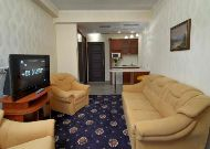 санаторий Шале Грааль: Panoramic suite - гостиная