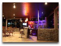отель Sharden: Кафе отеля терраса