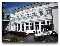 отель Schloss Hotel: Летняя террасса