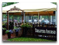 отель Sigulda: Летняя терраса
