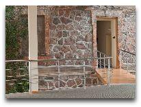 отель Sigulda: Переход от старого здания к новому