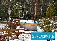отель Коттедж Sjungarbacken: Открытая джакузи