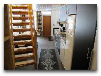 отель Коттедж Sjungarbacken: Коттедж Класс 4 кухня