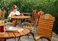 отель Chopin Hotel Cracow: Летняя терраса ресторана