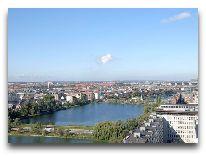отель Sсandic Hotel Copenhagen: Вид из окна номера