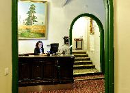 отель St. Olav: Ресепшен