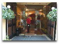 отель Relais&Chateux Stikliai: Вход в отель