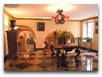 отель Relais&Chateux Stikliai: Холл
