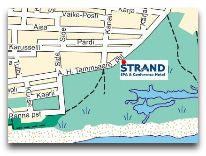 отель Strand Spa: Карта
