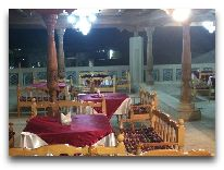 отель Sultan: Ресторан на террасе