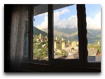 отель Svanetiya: Вид из окна