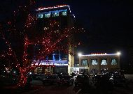 отель Tabriz: Ночной вид отеля