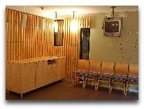 отель Tartu: Комната отдыха в сауне