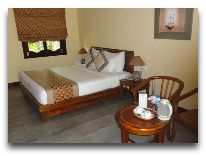 отель Terracotta Resort & SPA: Bungalow Deluxe Garden View- спальня