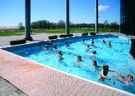 отель SPA Tervise Paradiis: Открытый бассейн из аквапарка