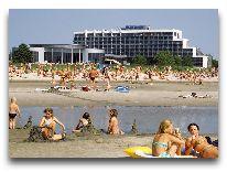 отель SPA Tervise Paradiis: Пляж у отеля
