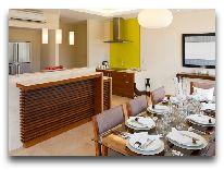 отель The Ocean Villas: Кухня и столовая