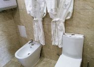 отель The Plaza Hotel Bishkek: Ванная вв номере Luxe Suite