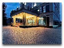 отель The Plaza Hotel Bishkek: Территория отеля