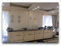 отель The Plaza Hotel Bishkek: Ресепшен отеля