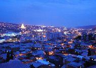 отель The Terrace Hotel & Restaurant: Вид на ночной город