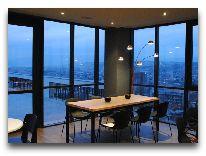 отель The Terrace Hotel & Restaurant: Ресторан