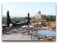 отель Tiflis Palace: Ресторан Tiflis Veranda