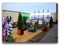 отель Toila SPA: Сауна и место для загара на крыше