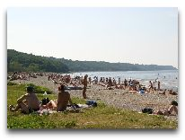 отель Toila SPA: Пляж около отеля