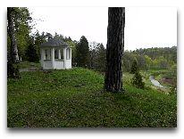 отель Toila SPA: Беседка в парке