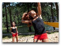отель Парк отдыха и развлечений Tony Resort: Пляжный волейбол