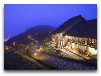 отель Topas Ecolodge Hotel: Ресторан