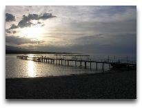 отель Три Короны: Закат на озере